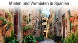 Mieten und vermieten in Spanien