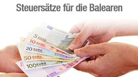 Steuersätze für die Balearen