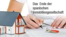 Das Ende der spanischen Immobiliengesellschaft?
