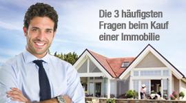 Die 3 häufigsten Fragen beim Kauf einer Immobilie