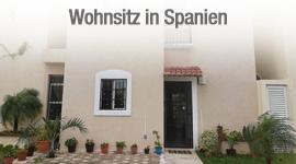 Wohnsitz in Spanien