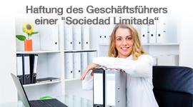 """Haftung des Geschäftsführers einer """"Sociedad Limitada"""" (spanische GmbH)"""